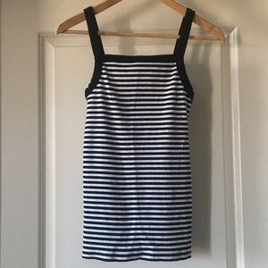 striped halter top tank top